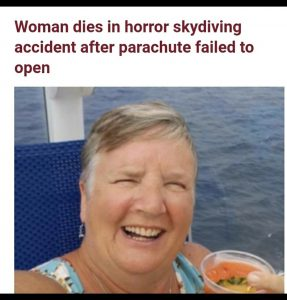 Woman Dies In Horror Skydiving Accident After Parachute Failed To Open